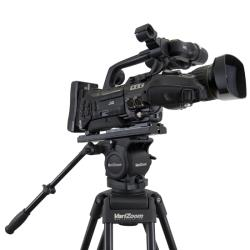 VariZoom VZTK100AM Videostativ mit 100mm Fluidkopf bis 8Kg