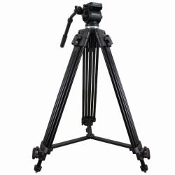 Video Tripod VZTK75A 75mm including Head and Bag