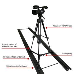 VariZoom SOLO SLIDER DOLLY KIT with tripod