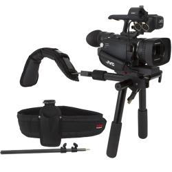 VariZoom VZDVTRAVELER Schulterstütze für Kameras bis etwa 3 2 Kg