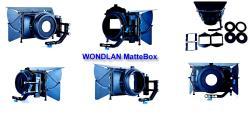 Wondlan Matte Box für 15mm Rods Foto und Video Sonnenblende