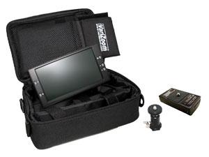 VariZoom VZTFT7U - Videomonitor Set mit Akkusystem und Halter