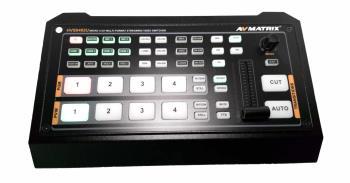AVMATRIX 4-Kanal Streaming Videomischer HVS0402U
