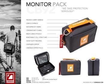 Cinebags CB92 Monitor Tasche 7 Zoll