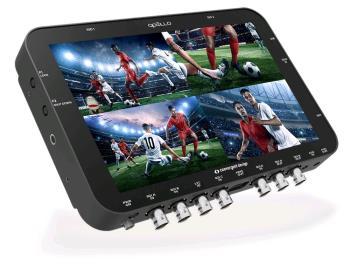 Convergent Design APOLLO portabler Live Switcher und Rekorder