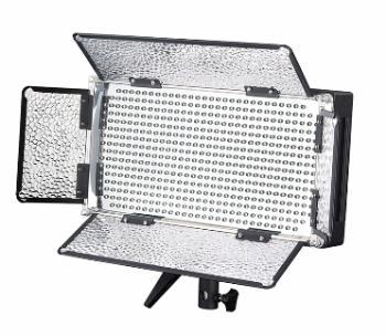 FineVideo LED Flächenleuchte 5400K LED500R DIMMBAR 25 Watt mit FB  Demogerät