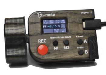 DigiPin13 B-Mote Steuerung für Blackmagic Kameras