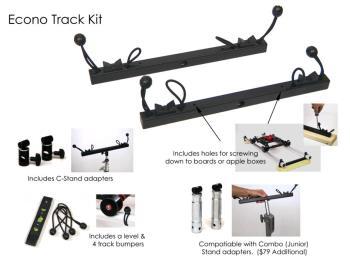 EZFX EZ-Slider Econo Track Kit - Slider Schienen Montagekit