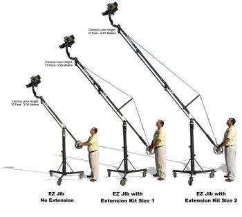 EZFX JIB Extension KIT - 2.13 Meter Verlängerung für Junior Jib
