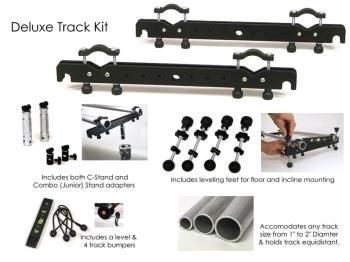 EZFX EZ-Slider Deluxe Track Kit verwandelt universelle Rohre in Tracks