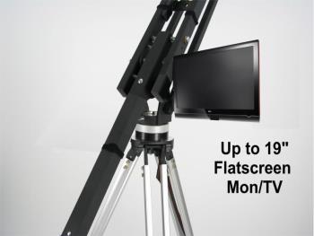EZFX Kamerakran Montagearm für LCD-Monitore Flatscreen Monitor Mount