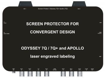 FineVideo ODYSSEY 7Q und Apollo Schutzfolie