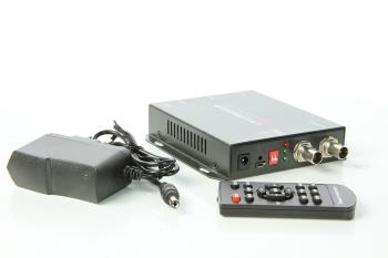 Konverter 3G SDI nach HDMI VGA und FBAS mit Skalierung