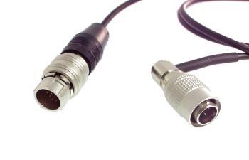 Hirose 4-pin Winkelstecker Sony FS7 zu Fujinon 20 Pin Zoom Funktion und Aufnahmefunktion