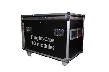 Flightcase LED-Module 10 Stück 500x500mm