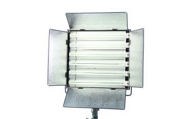 Dauerlicht Flächenleuchte Fluorescent 330 Watt dimmbar LH655A Foto und Video