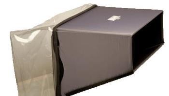 Hoodman H-2541 Sony PVM 2541 PVMA250 Monitor Blendschutz Regenschutz