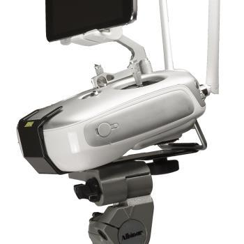 Hoodman Stativmontageplatte HDCMDJI für Drohnensteuerungen von DJI