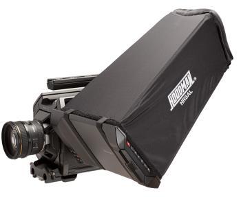 Hoodman HRSAL - Blendschutz für Blackmagic Design URSA Kamera - lange Bauform