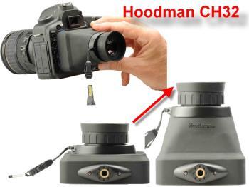 Hoodman CH32 - Hoodloupe 3.2 Compact - Sucheraufsatz für Kameras