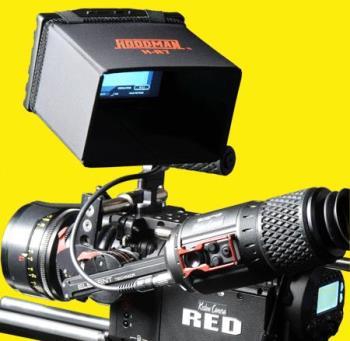 Hoodman H-R7 LCD Sonnenblende Blendschutz für Red 7 Zoll ersetzt durch REDTL74