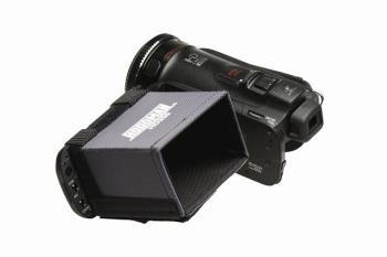 Hoodman HD350 VIDEO Sonnenschutzblende für 3.5 Zoll Monitore und Sucher 16:9