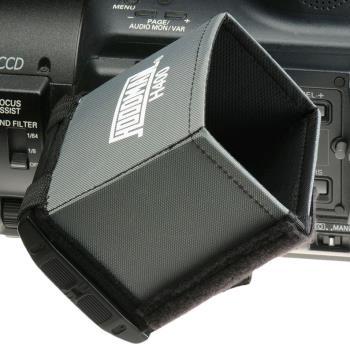 Hoodman H-400 LCD Sonnenblende Blendschutz für LCD Monitore und Kamerasucher