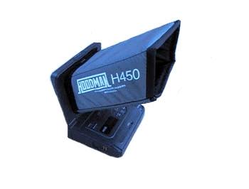 Hoodman H-450 LCD Sonnenblende Blendschutz
