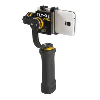 3 Achsen GIMBAL für Smartphone und GoPro Ikan FLY-X3 PLUS