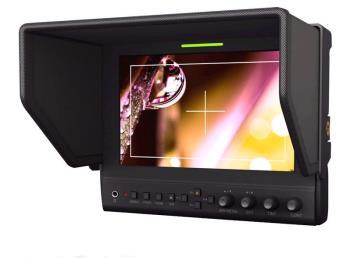 Lilliput 663 O P2 - 7 Zoll LCD Monitor 1280x800 HDMI I/O und Vectorscope
