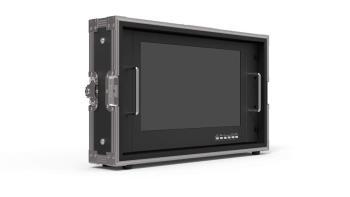 Lilliput 15.6 Zoll CCTV Monitor High Brightness SDI PVM150S-FC im Flightcase