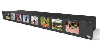 Lilliput RM-0208S 8 x 2 Zoll Monitor als Rackmount 19 Zoll