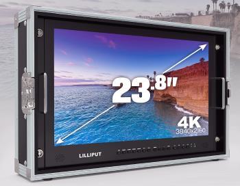 Lilliput 23.8 Zoll 4K Monitor mit 4 x HDMI SDI VGA bis 3840x2160 50Hz BM230-4K