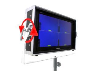 Lilliput PVM220S-FC 21.5 Zoll PRO SDI Monitor mit Flightcase