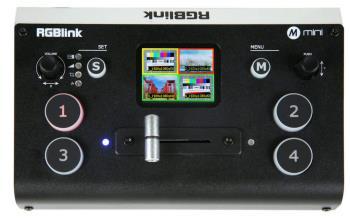 Videomischer für Streaming RGBlink mini