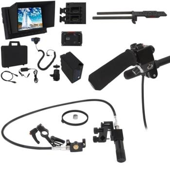 VariZoom VZUSPG-EXHD Hinterkamerabedienung HD Monitor Set