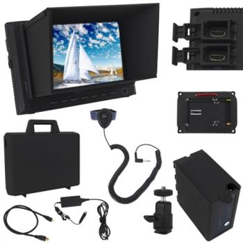 VariZoom VZM7K - 7 Zoll Monitor Komplett  Kit mit Koffer