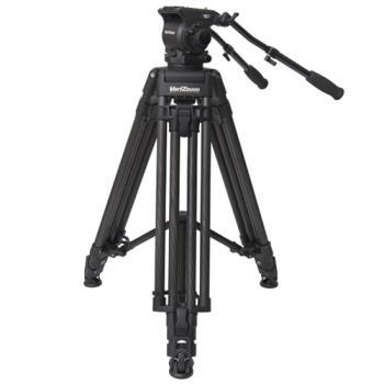 VariZoom VZTKC100C Videostativ mit Fluid Kopf bis 11Kg Kamera