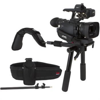 VariZoom VZDVTRAVELER Schulterstütze für Kameras bis etwa 3.2 Kg