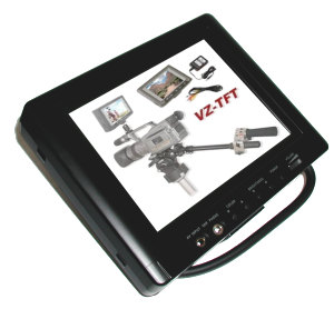VariZoom VZTFT 5.6 - LCD Monitor mit 5.6 Zoll und Videoeingang