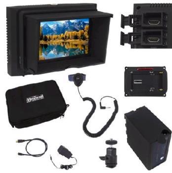 VariZoom VZ-M5 KIT ( VZM5K ) 5 Zoll HD Monitor mit HDMI Anschluss
