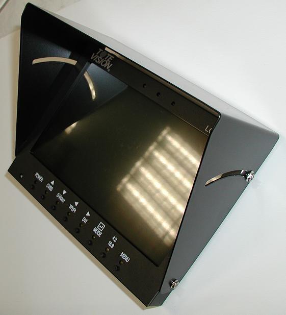 Foto ToteVision LCD-703 HD Sonnenschutzblende aus Aluminium