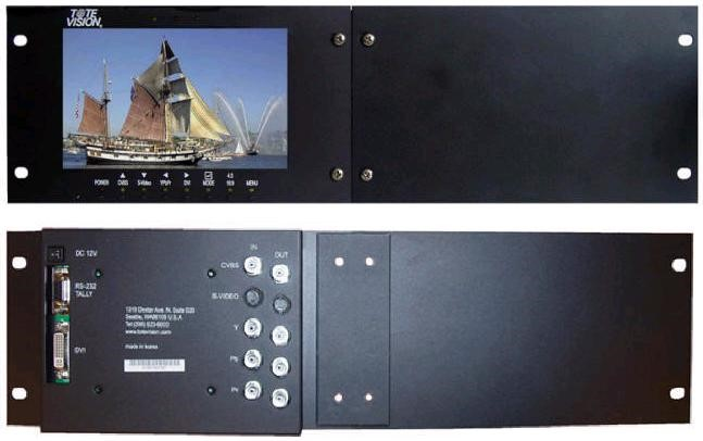 Foto ToteVision LCD-703 HD1 Rackmount 1x7