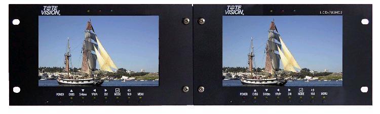 Artikelfoto 1 ToteVision LCD-703 HD2 Rackmount 2x7
