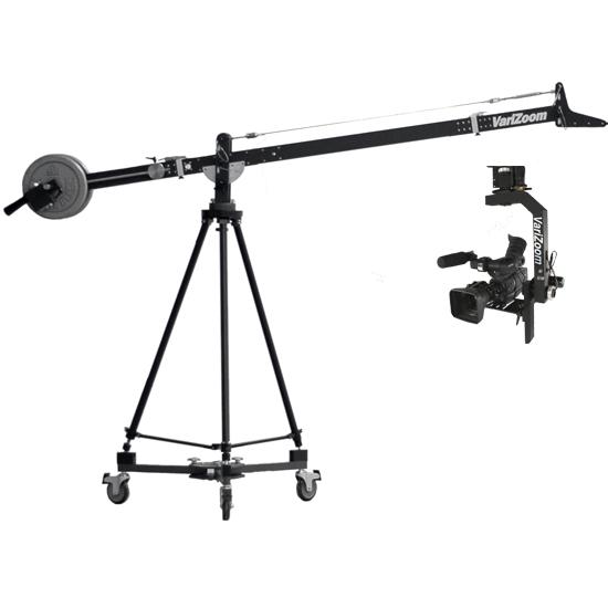Foto VariZoom VZ-SNAPCRANE9-100 KameraKran 3 Meter mit RemoteHead