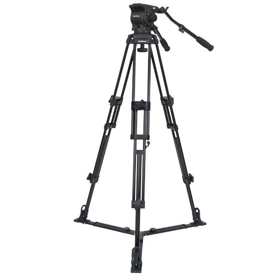 Foto VariZoom VZTK100A Videostativ mit Kopfeinheit bis 8kg