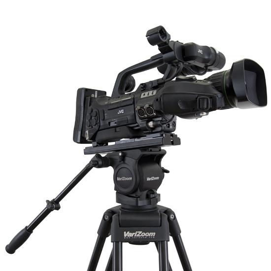 Artikelfoto VariZoom VZTK100AM Videostativ mit 100mm Fluidkopf bis 8Kg