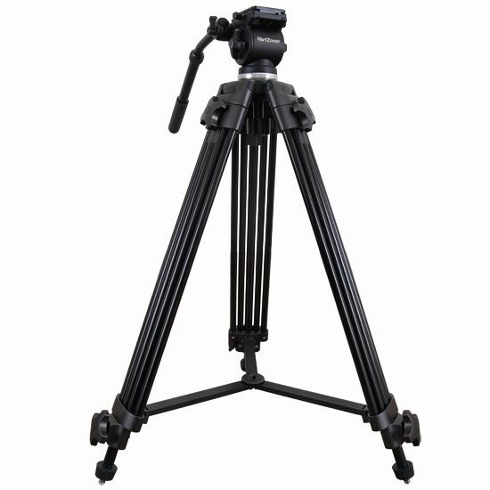 Artikelfoto Videostativ VZTK75A mit 75mm Halbschale mit FluidKopf und Tasche