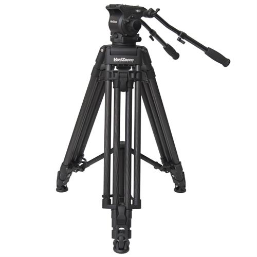 Artikelfoto VariZoom VZTKC100C Videostativ mit Fluid Kopf bis 11Kg Kamera