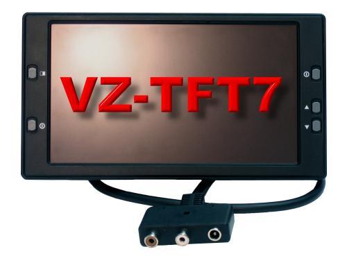 Artikelfoto 1 VariZoom VZTFT7 - Videomonitor 7 Zoll